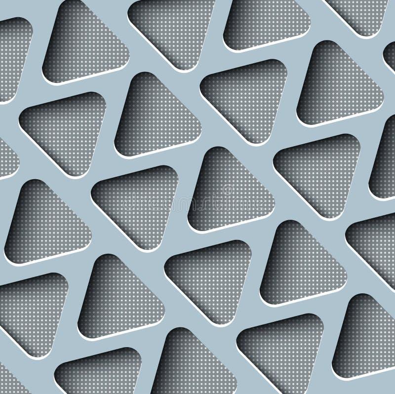 Seamless abstract pattern stock illustration