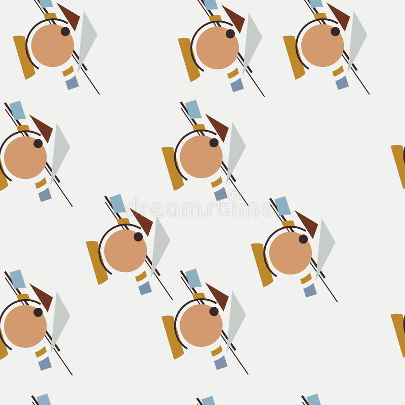 Seamless Abstract pattern. Seamless vector abstract pattern for your designe vector illustration