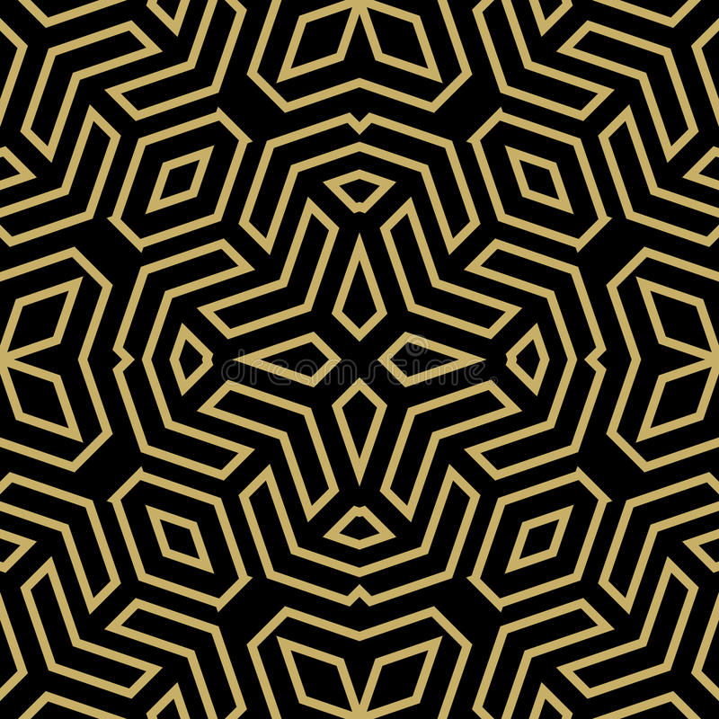Seamless Abstract Vector Pattern royalty free illustration
