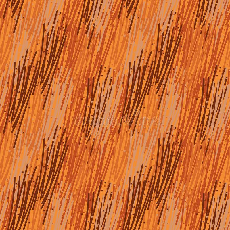 Seamless abstract vector pattern similar to animal fur royalty free illustration