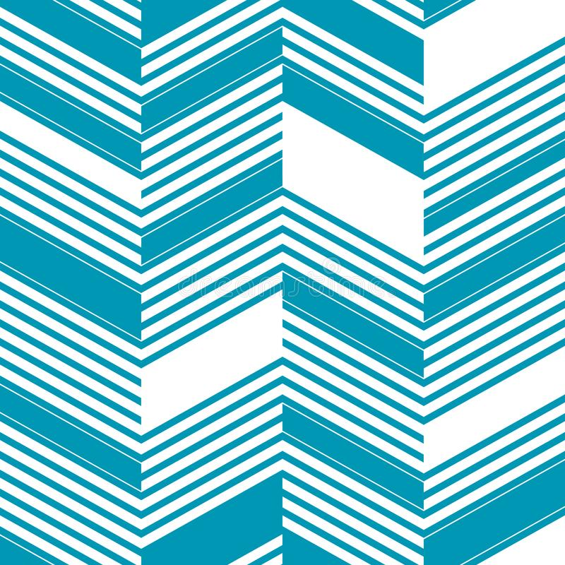 Seamless abstract zigzag lines vector patterns. Vector fashion backdrop in vintage op art style. Seamless abstract zigzag lines vector patterns. Vector fashion stock illustration