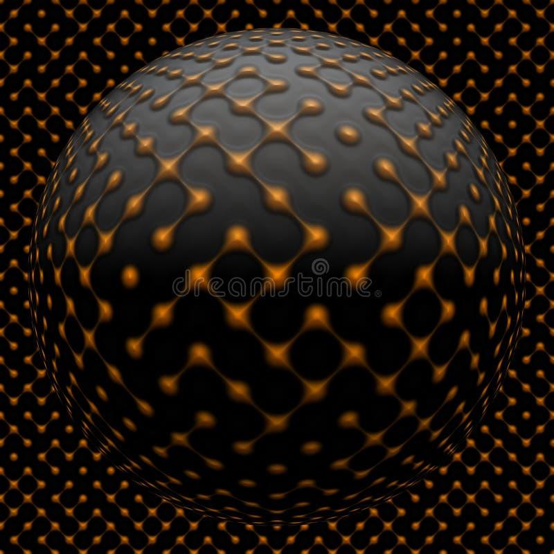 seamless abstrakt bakgrund vektor illustrationer
