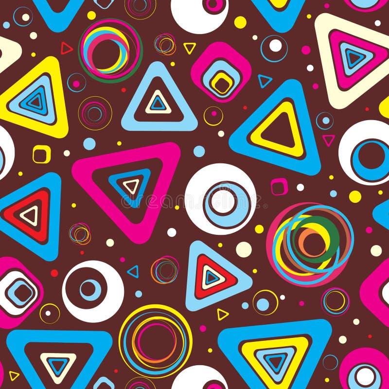 seamless abstrakt bakgrund stock illustrationer