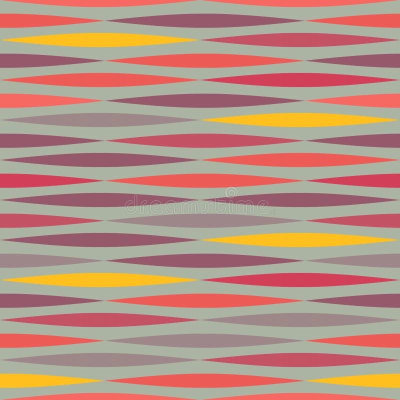 seamless abstrakt etnisk geometrisk mexikansk modell vektor illustrationer