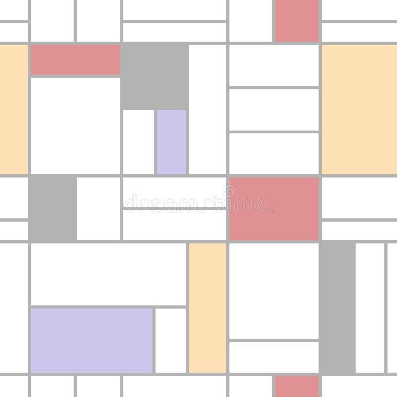 seamless abstrakt färgrik modell vektor illustrationer