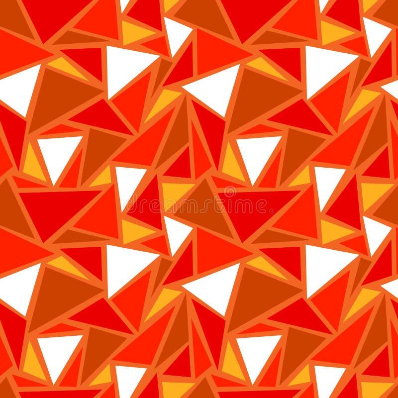 seamless abstrakt geometrisk modell royaltyfri illustrationer