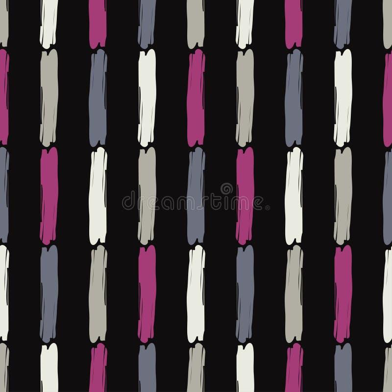 seamless abstrakt geometrisk modell bakgrund är kan använd mosaiktextur borsten Kläcka för hand Klottra textur vektor illustrationer