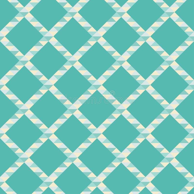 seamless abstrakt geometrisk modell Textur av sicksackar och trianglar polygoner Klottra textur royaltyfri illustrationer