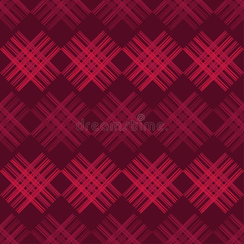 seamless abstrakt geometrisk modell Texturen av remsorna borsten Kläcka för hand Klottra textur vektor illustrationer