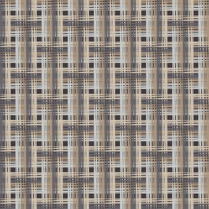 seamless abstrakt geometrisk modell Texturen av remsorna borsten Kläcka för hand Klottra textur royaltyfri illustrationer