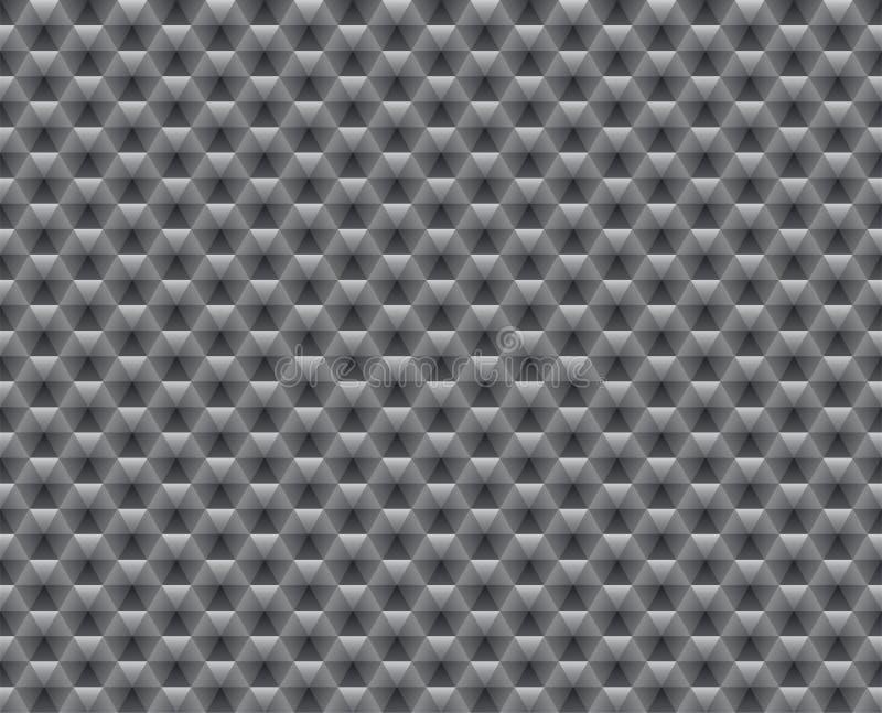 seamless abstrakt grå modell stock illustrationer