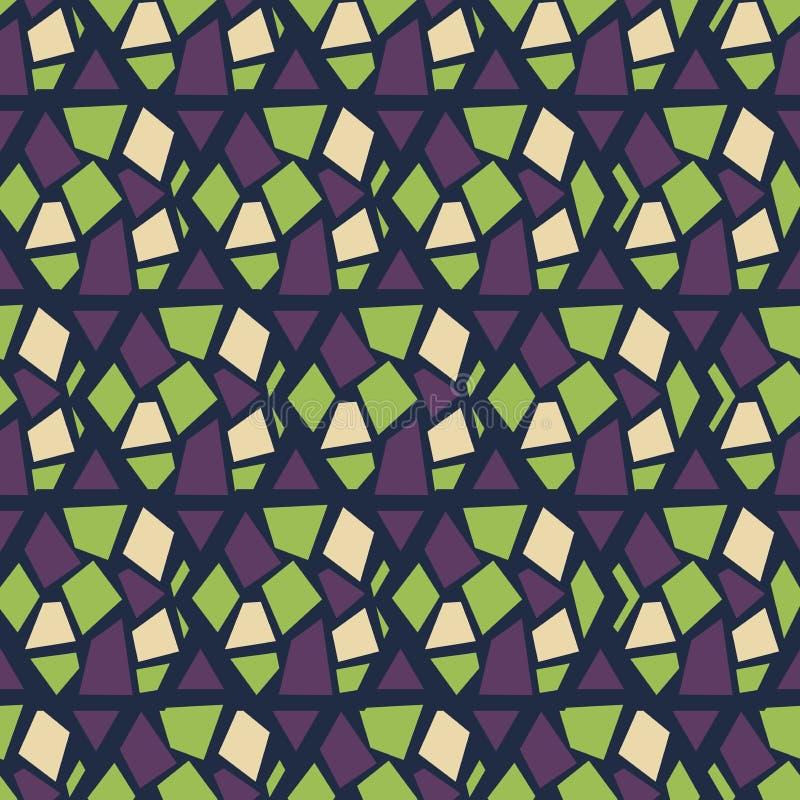 seamless abstrakt modell Uppsättning rhombus vektor illustrationer