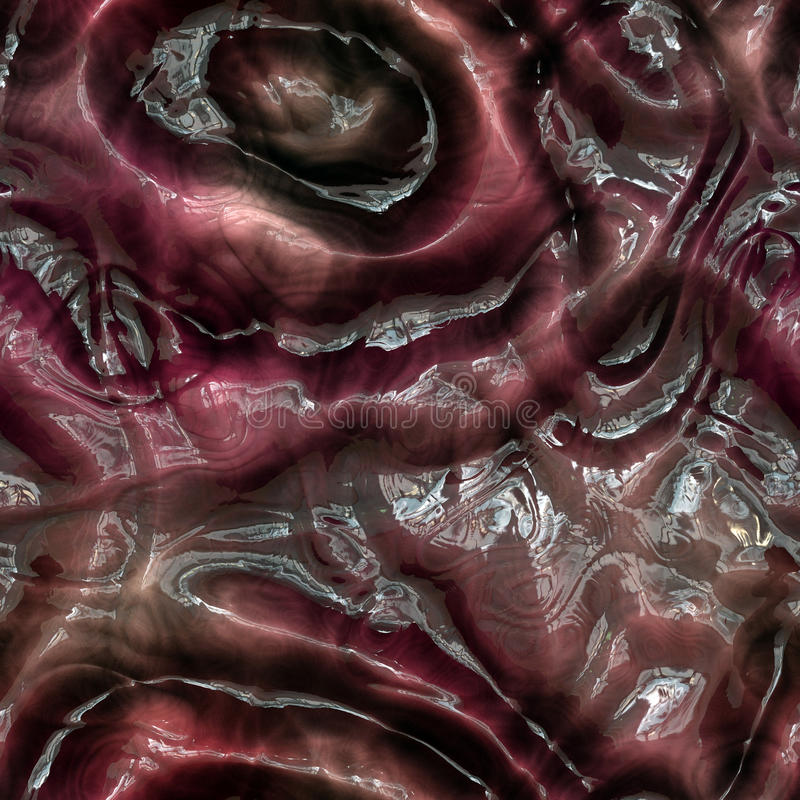 Seamless Alien skin Texture royalty free illustration