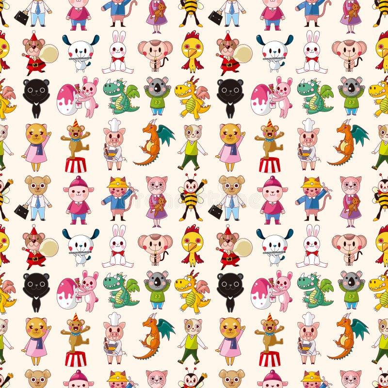 Seamless Animal Pattern Stock Photos