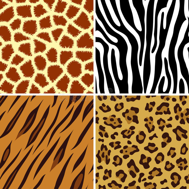 Free Seamless Animal Print Royalty Free Stock Photography - 11954167