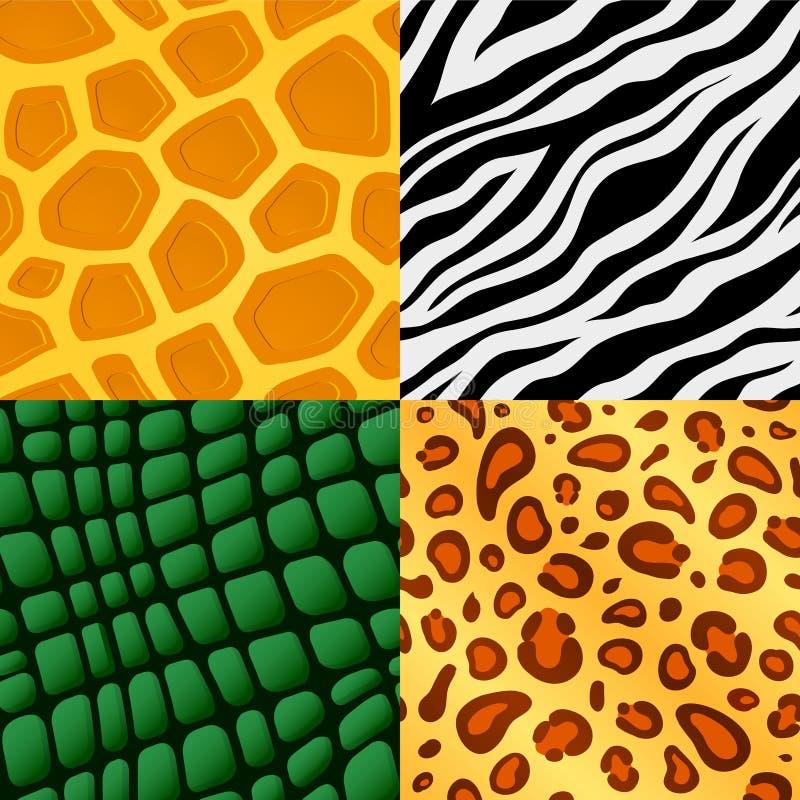 Seamless animal skin pattern royalty free stock image