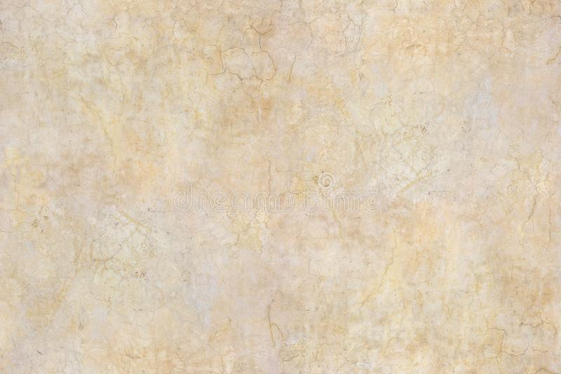 Seamless antique wall. Old, cracked plaster texture. stock images