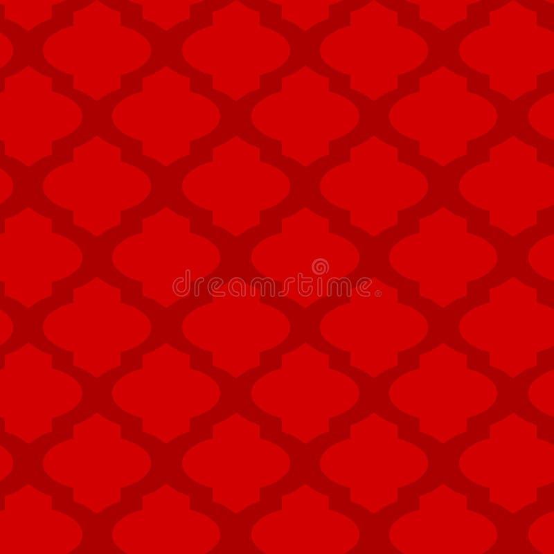 seamless arabisk geometrisk modell stock illustrationer