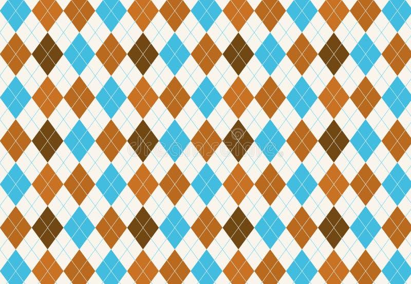 Seamless Argyle diamond harlequin pattern texture background. vector illustration