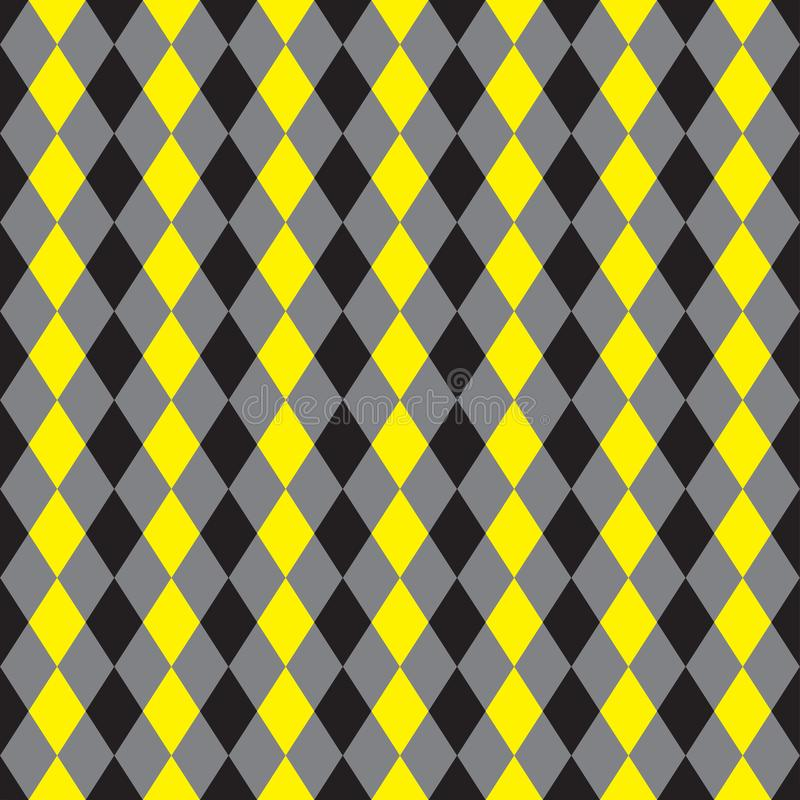 Seamless argyle fabric pattern background. vector illustration
