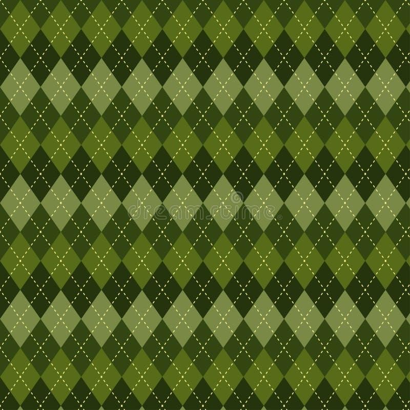 Seamless argyle pattern. vector illustration