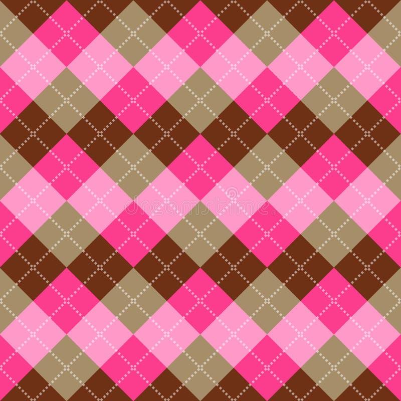 Seamless argyle pattern vector illustration