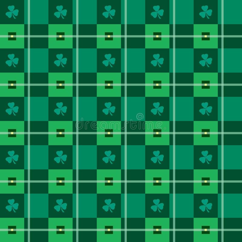 Seamless Argyle-Plädet vektorkonst mönstrar royaltyfri fotografi