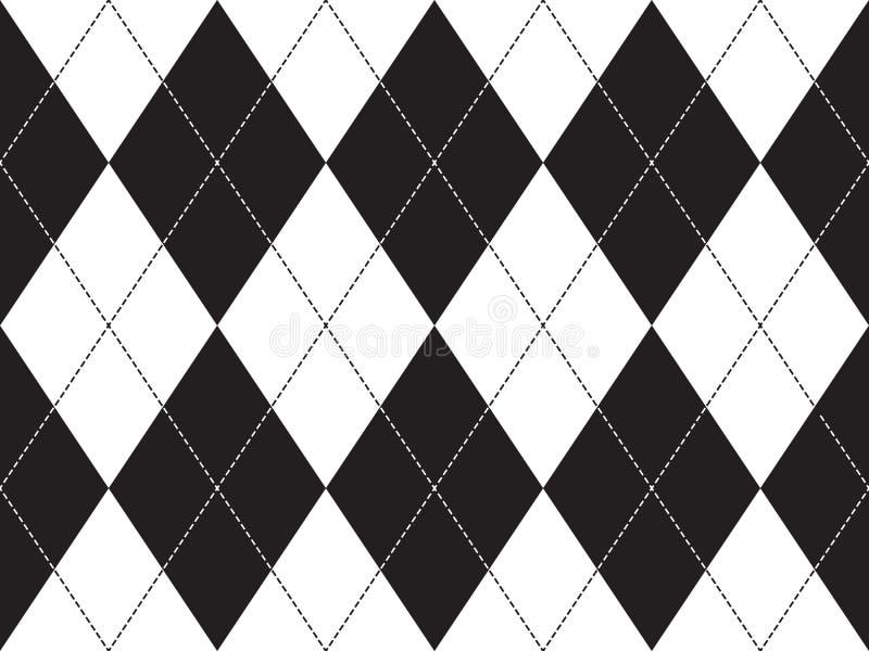 seamless argylemodell vektor illustrationer