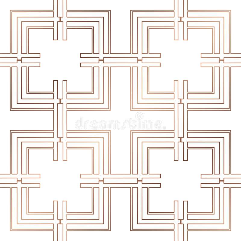 seamless art décomodell vektor illustrationer