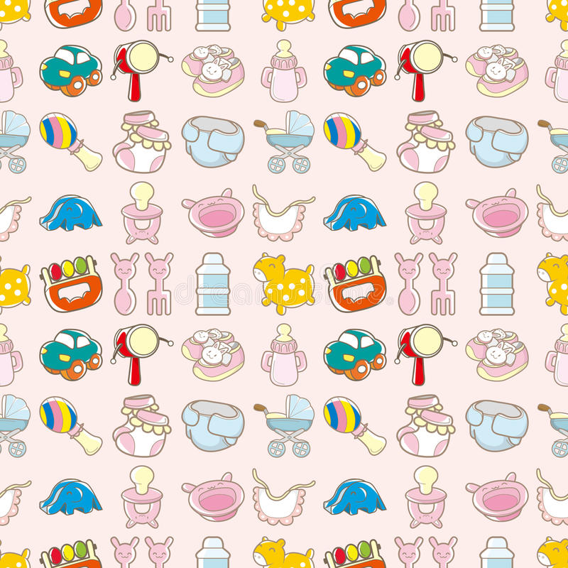 Download Seamless Baby Toy Pattern Royalty Free Stock Photo - Image: 28023555
