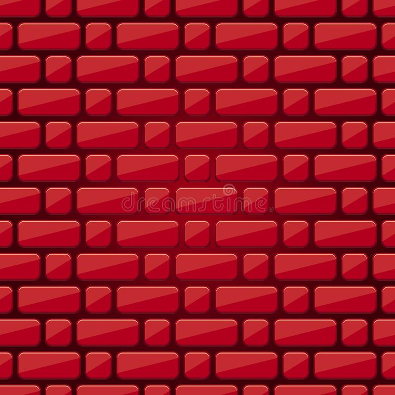 Download Seamless Background Of Bricks Red Brick Wall Masonry Gradient Texture
