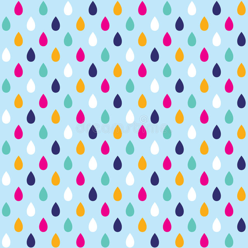 Seamless background with drops of water stock photos