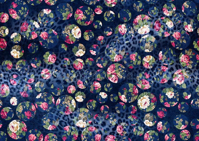 Seamless background from a floral ornament, Fashionable modern wallpaper or textile vector illustration