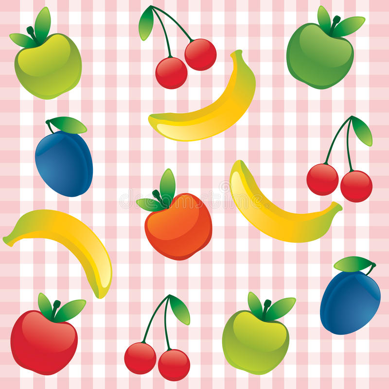 Download Seamless Background With Fruit Stock Photo - Image: 18019820