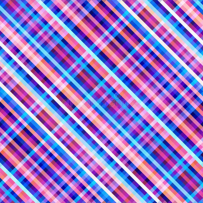Seamless background. Geometric abstract diagonal pattern in low poly pixel art style. vector illustration