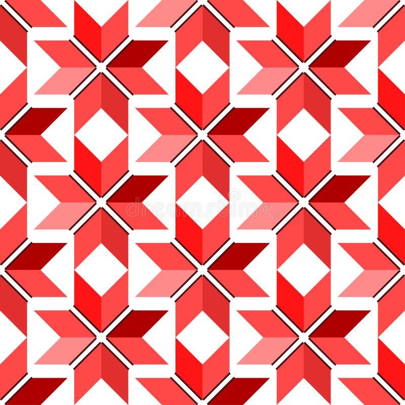 Seamless background with national ukrainian symbols vector illustration