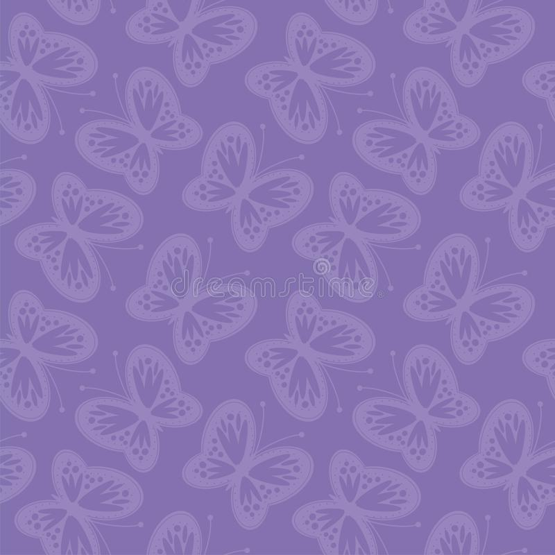 Download Seamless Background With Openwork Butterflies Stock Illustration - Image: 24456965