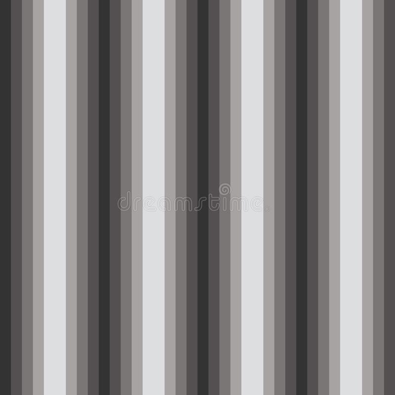 Vertical gradient bars seamless pattern with optical illusion stock image
