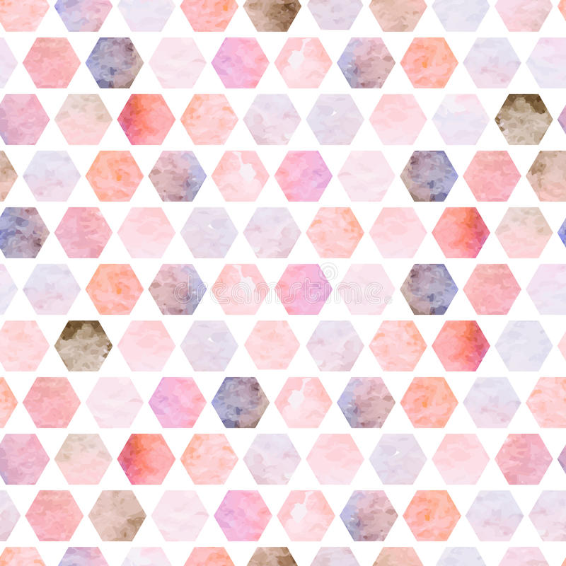 Seamless background of polygons. vector illustration