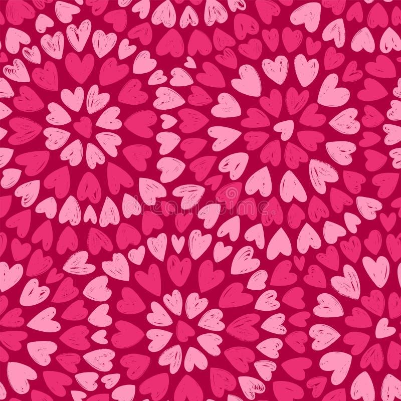 Seamless background. Romance, decorative pattern vector illustration. Seamless background. Romance decorative pattern vector illustration stock illustration