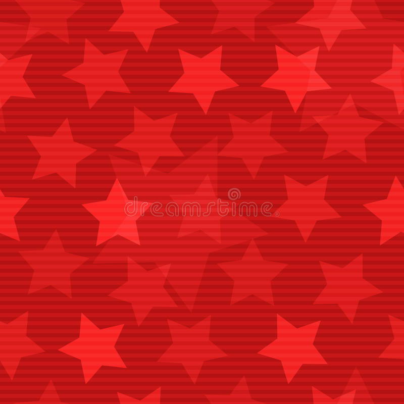 Seamless background with stars. Red seamless background with stars vector illustration