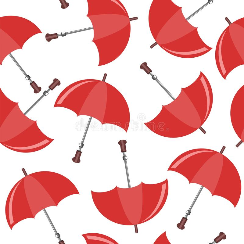 Download Seamless Background With Umbrellas Stock Vector - Illustration: 24666331
