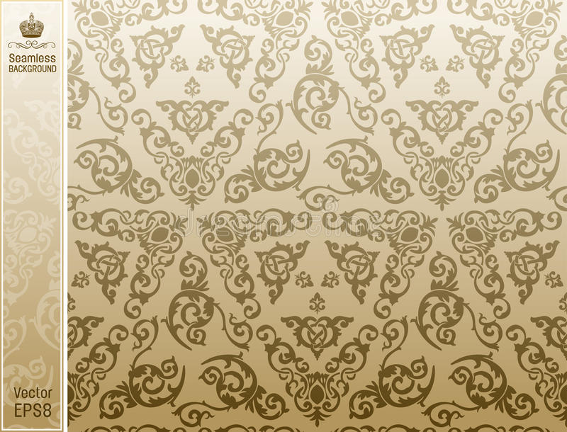 Download Seamless Background Vintage  Floral Pattern Stock Vector - Image: 17311369