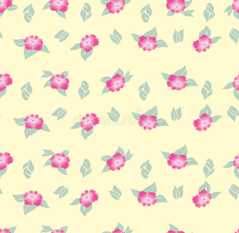 Free Seamless Background With Meadow Flower Stock Photo - 26239520