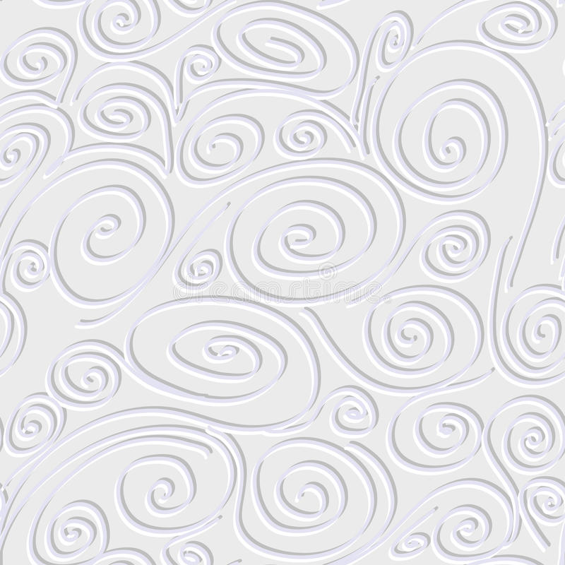 Free Seamless Background With Spirals Stock Image - 30469521
