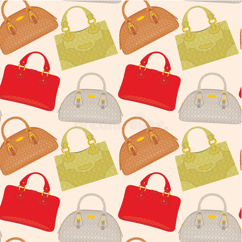 Download Seamless bags pattern stock vector. Image of illustration - 22769424