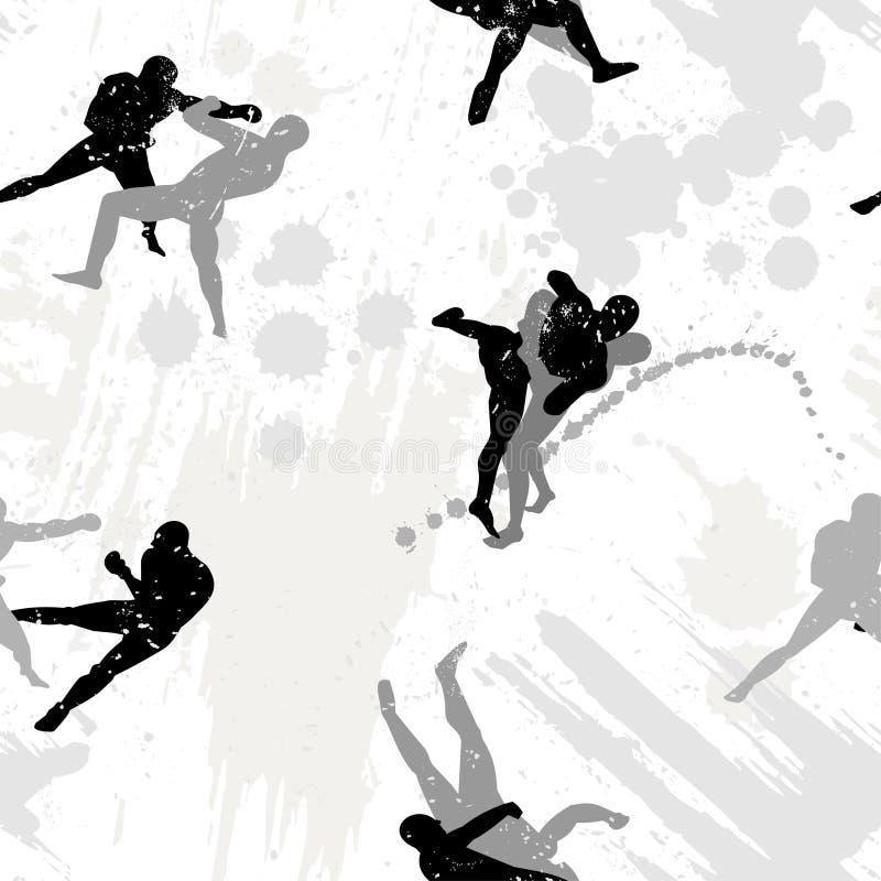 seamless bakgrund royaltyfri illustrationer