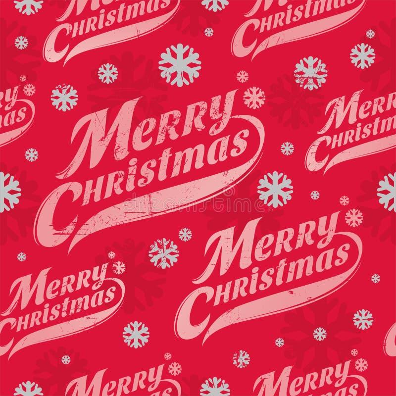 Seamless bakgrund för jul vektor illustrationer