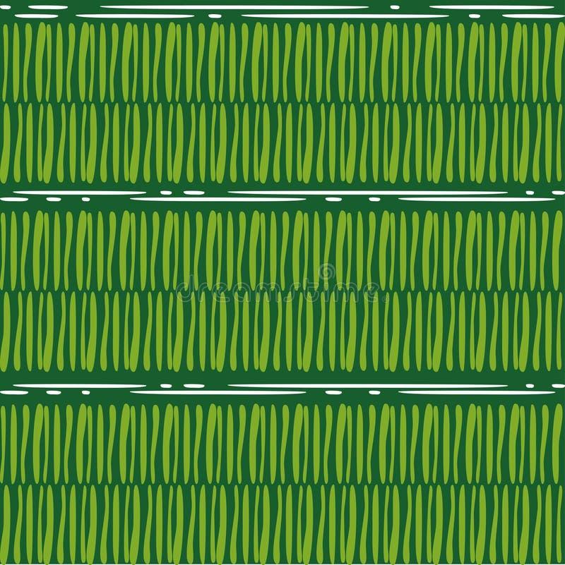 Seamless bakgrund geometrisk sammans?ttning abstrakt bakgrundsgreen royaltyfri illustrationer
