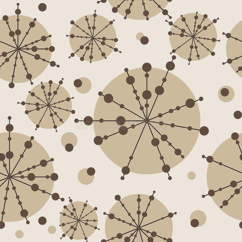 seamless bakgrundsbeige vektor illustrationer